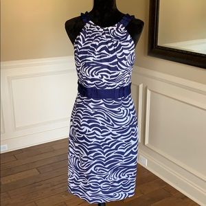 ✨Like New✨Antonio Melanie Patternd & Texturd Dress
